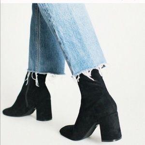 Jeffrey Campbell Cienega-Lo Boots black suede 6